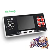 Old Arcade New 8 Bit Classic Retro Pocket Handheld Game Player Portable Game Console Pocket Console with 200 Games, Mobile Game Play, Nostalgic Game Play, Retro Game Play