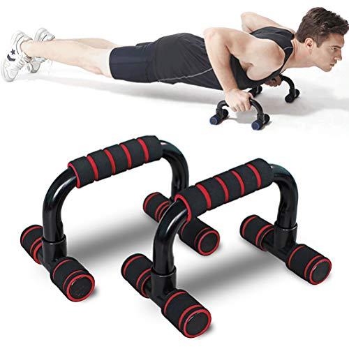 Pro Push Up Bar Stand Duurzame metalen fitnessapparatuur en gewatteerde handgrepen voor veilige grip Antislipvoeten Verhoogde bar voor verbeterde push-ups