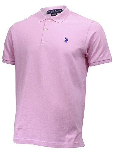 U.S. Polo Assn. Men's Classic Shirt, Mystic Pink, L