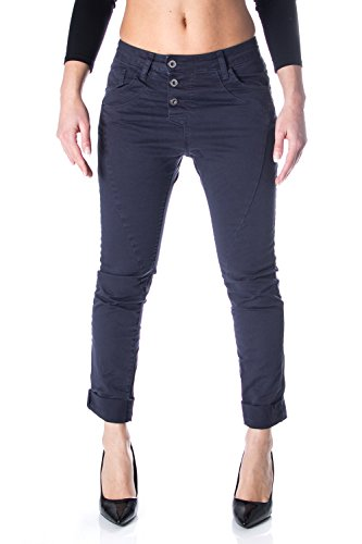 Please P78 Damen Jeanshose, Baggy Gr. L, dunkelblau
