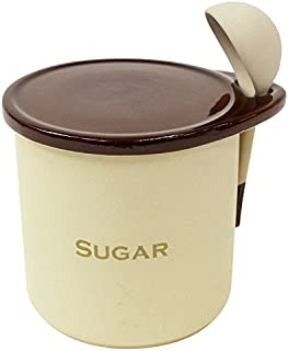【調味料入れ 900ml 陶器 固まりにくい】パラパラ素焼きポット シュガーorソルト 900ml(B812)