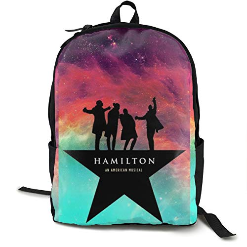 Hamilton an American Musical Classic Leisure Student Bag.