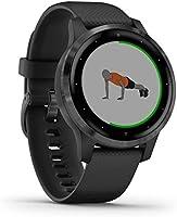 Garmin vívoactive 4S - Reloj Inteligente con GPS y Funciones de Control de la Salud Durante Todo el día, Color Negro...