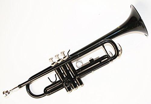 Cherrystone Bb Trompete mit Koffer und Zubehör in verschiedenen Farben (schwarz)