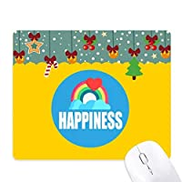 永遠の幸せ ゲーム用スライドゴムのマウスパッドクリスマス