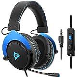 KLIM Rush - Auriculares Gaming + Diadema cómoda y Ajustable +...
