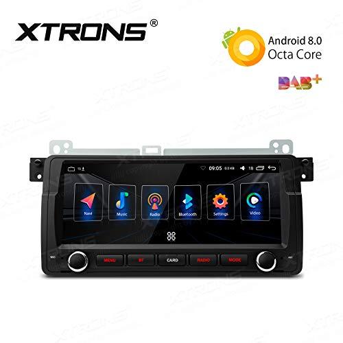 AUTORADIO 8.8' XTRONS Android 8.0 per BMW E46 M3 32GB 4GB