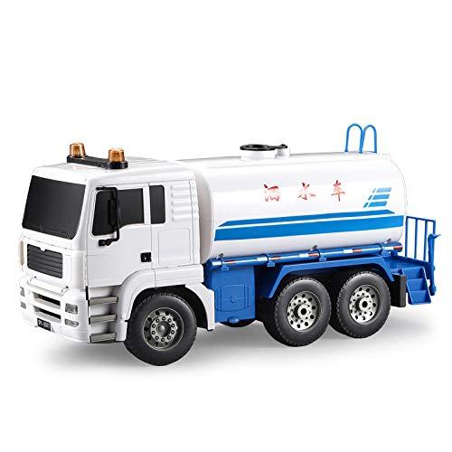 DishyKooker 1:20 38 cm Tele-C-Omando Elektro-Sprinkler LKW Stradreinigung Fahrzeuge für Engineering Hervorragender Bewässerungswagen RC