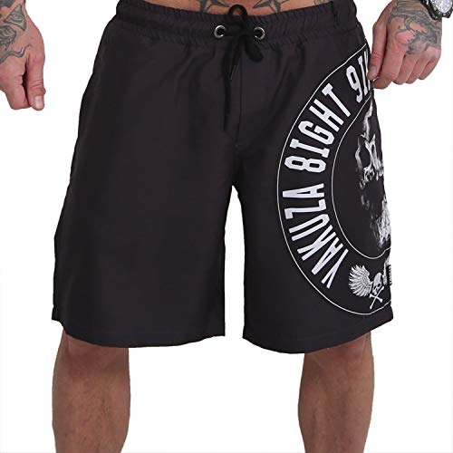 Yakuza Herren Screaming Skull Boardshorts