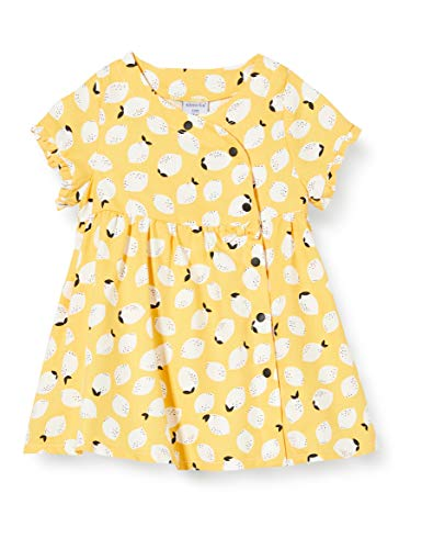 Absorba 7q30011-ra-robes Vestido, Amarillo (Jaune Moyen 72), 2 años (Talla del Fabricante: 2A) para Bebés