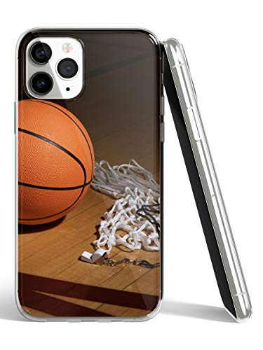 STAMPATEK Custodia Cover per Samsung Galaxy J5 2017 Pallone da Basket Rete Gel Morbida Trasparente Anti Urto MOD. CO27