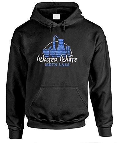 The Goozler Walter White Meth Labs - Heisenberg Pullover Hoodie, L, Black