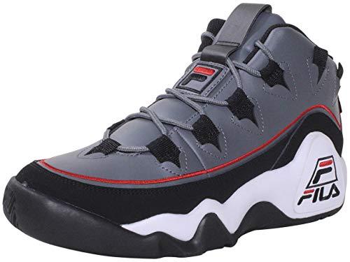 Fila Grant-Hill-1-Offset - Zapatillas de baloncesto para hombre, gris (Castle Rock Black Red), 44 EU