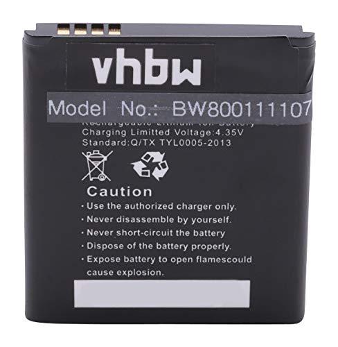 vhbw Akku kompatibel mit Blu W410, Win JR Handy Smartphone Handy (1950mAh, 3,8V, Li-Ion)