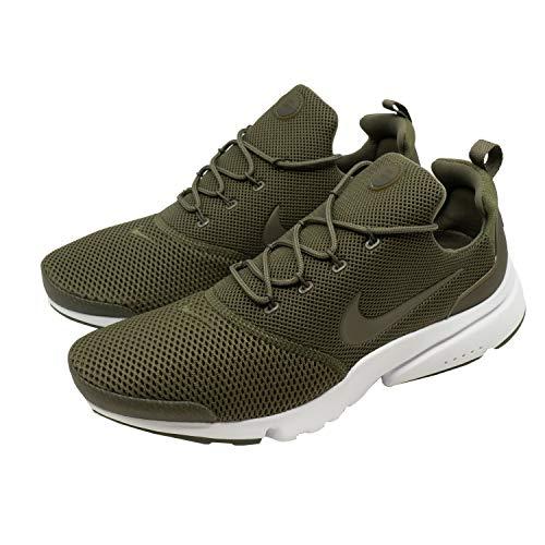 Nike Herren Presto Fly Oliv Mesh Sneaker 42,5