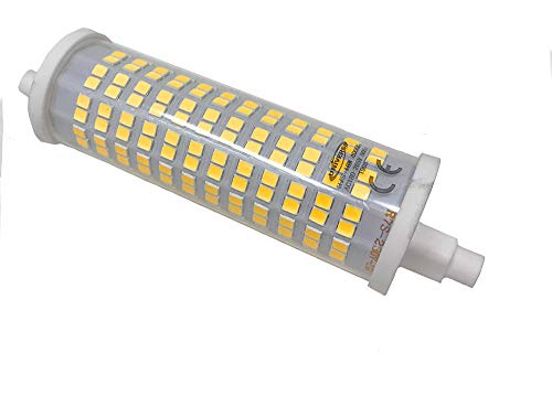 Vetrineinrete Lampadina led smd attacco r7s 18 watt lampada fari luce bianca 6500k calda 3000k naturale 4000k 220v 2000 lumen (4000K) P41