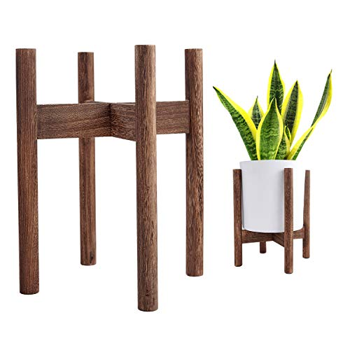 Plant Stand, Fits up to 10 Inch Planter, Plant Stands Indoor, Pot Holder, Indoor Plant Stand, Plant Holder, Mid Century Plant Stand, Wood Plant Stand