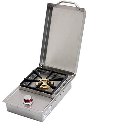Affordable Cal Flame 089245002369 Single Outdoor Stove Burner, Stainless Steel