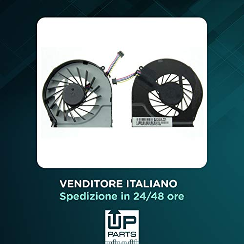 UP Parts UP-FNH008 - Ventola Fan CPU HP COMPAQ G62 G42 CQ62 CQ42 Pavilion G4-1000 G7-1000 cod. 639460-001(4 Pin)