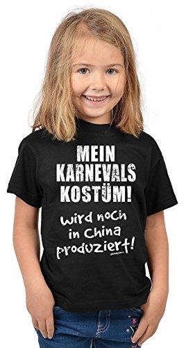 Goodman Design ® kinder-T-shirt mijn carnaval kostuum! Grappig Kids Shirt carnaval kostuum voor kinderen meisjes verjaardag voor meisjes