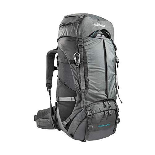 Tatonka Yukon 50+10 - Trekkingrucksack mit Frontzugriff und verstellbarem Rückensystem - für Herren und Damen - 60 Liter - titan grey