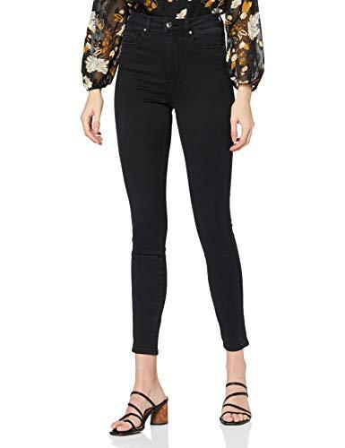 Only Onlroyal Life HW SK BB Pim1099 Jeans, Nero, 32 Medium Donna