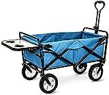 MTYLX Carro de Almacenamiento Multifuncional, Carro de Compras Multifunción, Carro Plegable para Acampar en el Jardín, Diseño de Escritorio Pequeño, Camiones de Mano de Gran Capacidad, Carro Utilitar