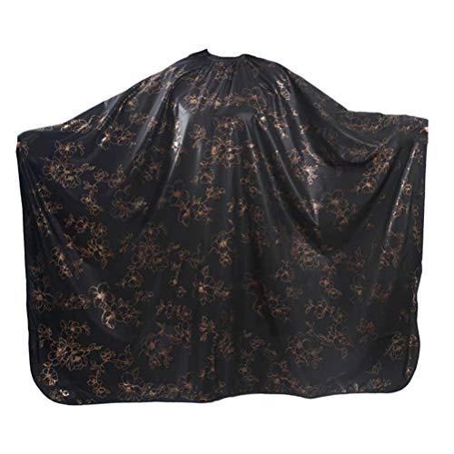 FRCOLOR Capa de Corte de Cabello Peluquero Capa de Tinte para El Cabello Capa de Salón Vestido de Peluquería Delantal Impermeable Tela para Peluquería