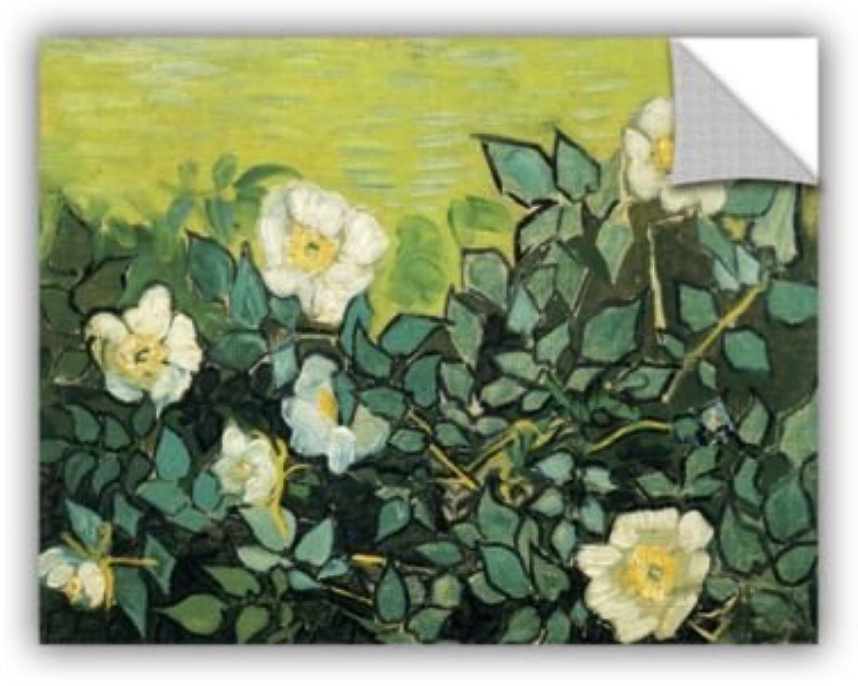 ArtWall Vincent Vangogh's Wild pinks, Art Appealz Removable Wall Art Graphic 14X18