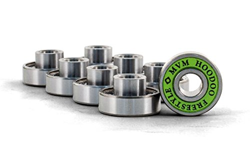 Mindless Longboard / Skateboard Bearings Voodoo Hoodoo Bearings (8 bearings)