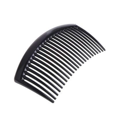 FEINENGSHUAI Pettine Capelli Ricci 5pcs/ Set Fatti a Mano Pettine 23 Tooty Plastic Headwear Accessori per Capelli Donne Fai da Te Clip (Color : Black)