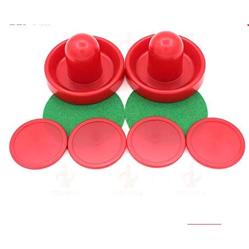 sahnah Lightweight 96mm Puck Ball Felt Pusher Universal Ice Hockey Set Air Ball Table Plastic Accessries Hit Ball