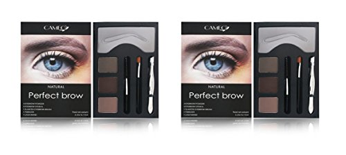 Cameo Perfect Brow Makeup Natural (Pack of Two)