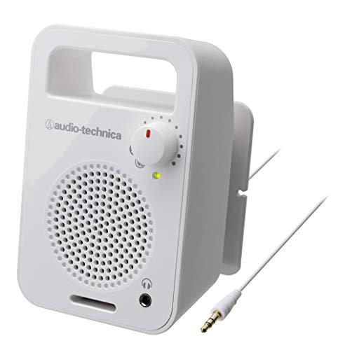 audio-technica モノラルアクティブスピーカー ホワイト AT-MSP56TV WH
