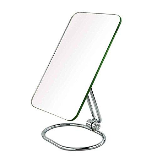 Miroirs de Bureau Portable Pliant Mural de Princesse HD de Chambre HD Grand de Haute définition Mural Multi-Angle