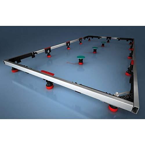 Montagerahmen bis 160x100 cm - MEPA - Fussgestell-Rahmengestell für Duschwannen