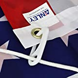 WICHEMI 4 PCS Sturdy Flag Pole Clips Snap Hooks Nylon Flagpole Attachment Hardware for Attaching Flag to Flagpole