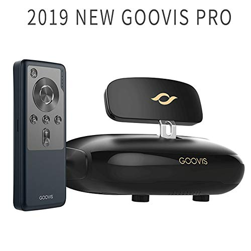 Goovis Pro 3D Cinema Headset 3D Viewer VR Headset All in one Virtual Reality Headset , Support Blu-Ray Player DVD Immersive 4K Cinema for Set-top Box DJI Drones PS4 Xbox PC Nintendo Smart Phone