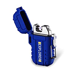 The internal lithium-ion battery eliminates the need for liquid fuel, and it can be easily recharged via any USB port using the included cord. It can also be used at all altitudes without requiring oxygen intake adjustment; Buoyant, waterproof wilder...
