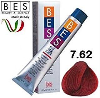 BES, Hi-Fi Color 100 ml 7.62 Rubio Rojo Irisee: Amazon.es ...