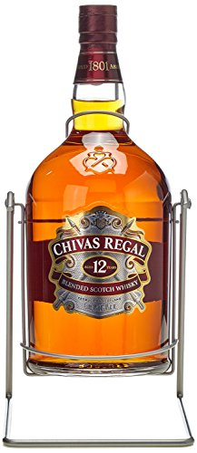Chivas Regal Scotch 12 Years Old mit Pumpe mit Geschenkverpackung  Whisky (1 x 4.5 l)