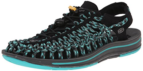 KEEN Uneek Womens-W Chaussures Basses de Trekking/Marche pour Femme, Gris (- Gris - Black Lagoon, 37 EU EU