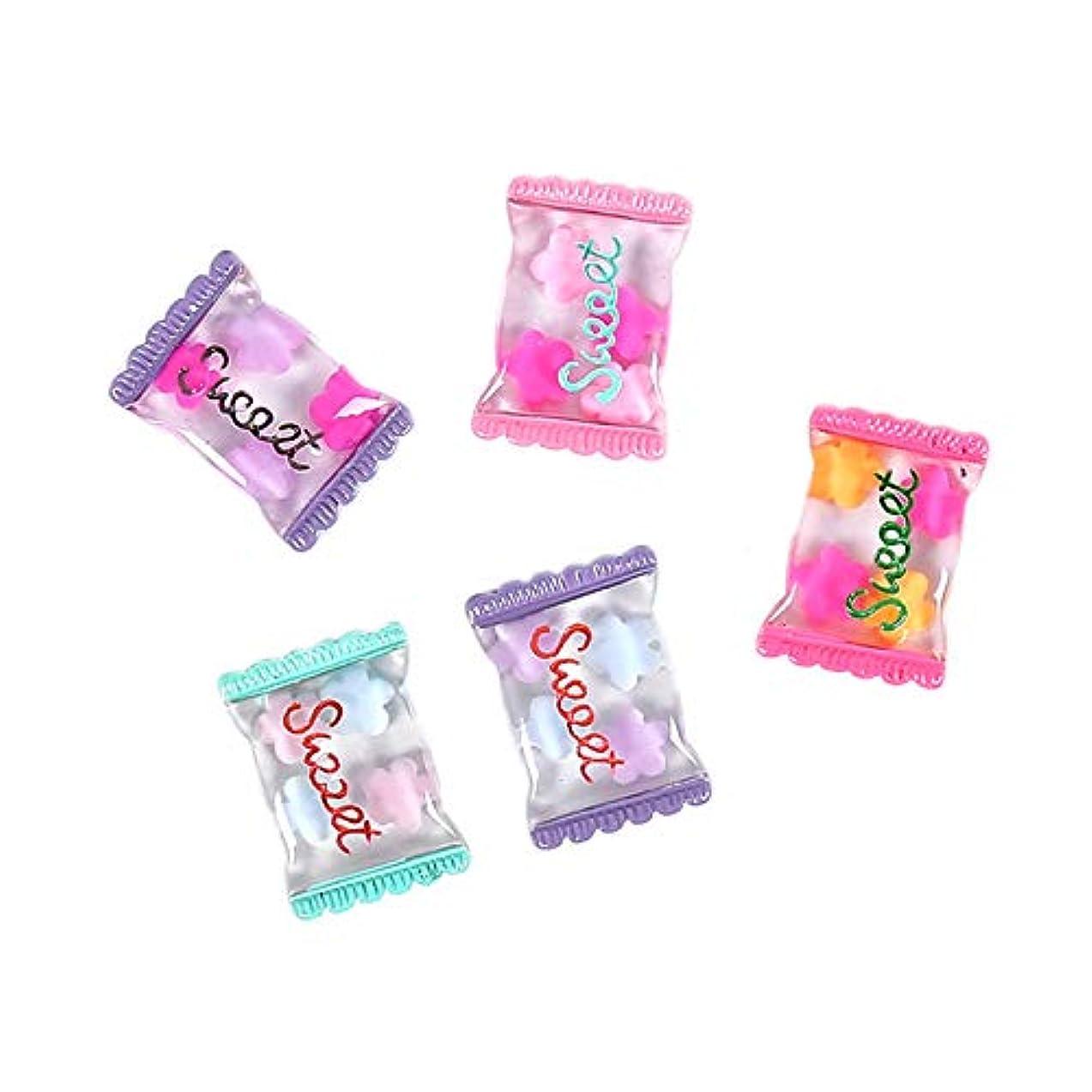 整然とした本を読む粒子Gaoominy 100個甘い樹脂キャンディヒラタミニチュアゼリーキャンディカボションスクラップブッキングdiyヘアアクセサリーデコパーツ