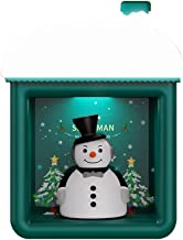 FuMeiJiaJiaJu Creatief Sneeuwhuis Nachtlampje USB Tafel Desktop Lamp Muur Opknoping Ligting Vrolijk Kerstdecoraties Thuis ...