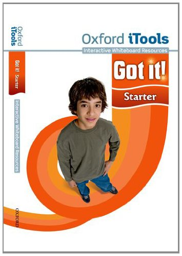 Got It! - Starter - Itools: A four-level American English course for teenage learners