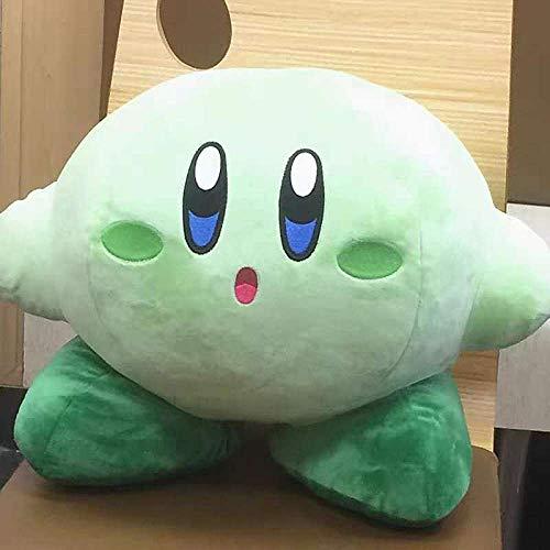 nobrand Big Game Plüschtiere, Original Blure Kirby Gefüllte Plüschtiere, Funny Star Kirby Stuff Kissen Kissenspielzeug 45cm Blau