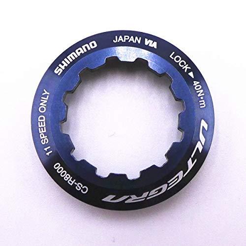TLBBJ Bicycle flywheel CS-R8000/6800 11 Speed Cassette Sprocket Wheel 11T/12T/13T/14T/15T/16T/17T/18T Cog Unit Bicycle Accessories (Color : R8000 Lock Ring)