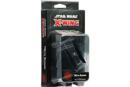 Asmodee Italia- Star Wars X-Wing Tie-VN Silencer expansión Juego de Mesa con espléndidas miniaturas, Color, 9952