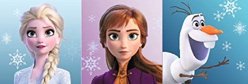 Die Eiskönigin Disney Frozen 3tlg. Handtuch-Set 30 x 30cm