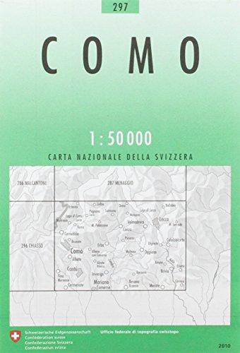 297 Como: Cantù - Erba - Lecco (Landeskarte 1:50 000)